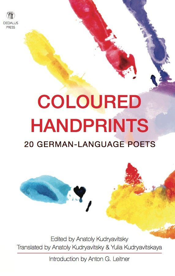 Coloured Handprints cover - Dedalus Press, poetry from Ireland and the world