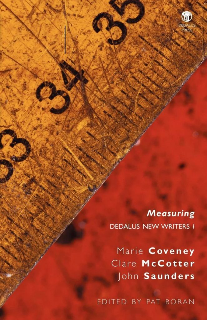 Measuring: Dedalus New Writers 1. Pat Boran (ed.)