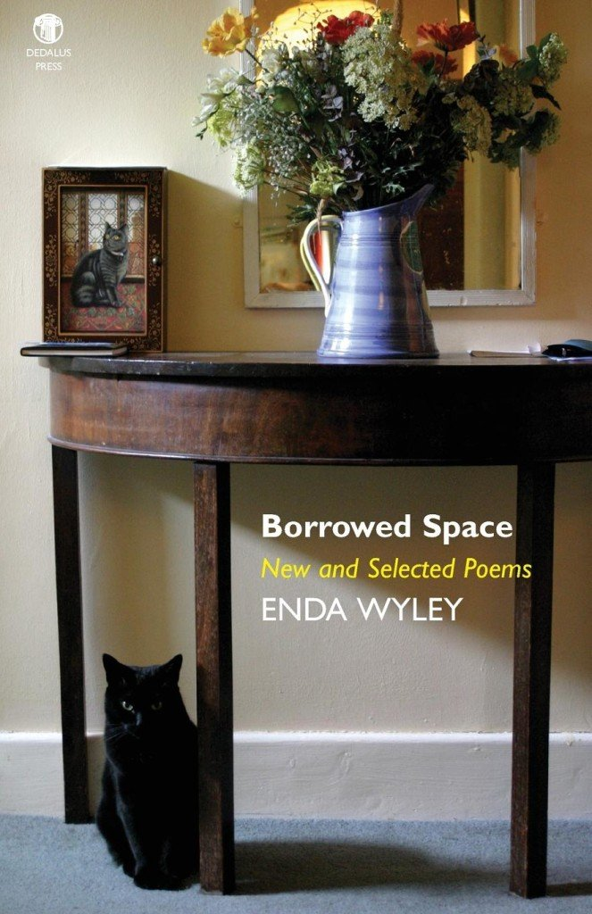 Borrowed Space by Enda Wyley cover - Dedalus Press, poetry from Ireland and the world
